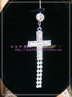 Ювелирное украшение для тела Fashion accessories exquisite titanium umbilical ring umbilical nail navel button belly chain