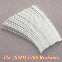 Free shipping! 1% SMD1206 Resistors 10R-910K Ohm  80Valuesx50Pcs= 4000PCS, Sample Kit