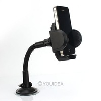 free shipping Universal Car Windshield Mount Holder Bracket with Photo Frame For MP4/MP3/PDA/Mobile car accessory 80409