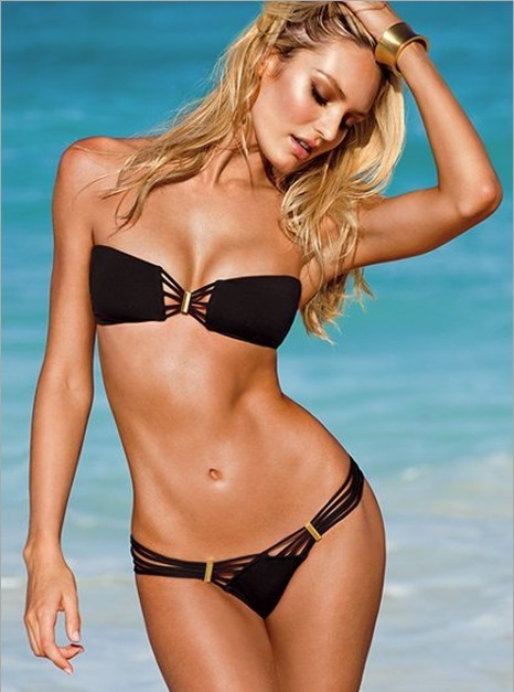 Free Shipping High Fashion Swimwear Bandeau Top and Brazilian Bottom Bikini Set Sexy Swimsuit BJN002(China (Mainland))