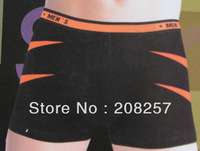 (factory  / wholesale-10pieces/LOT) Free shipping - cotton  customized Men's boxer shorts
