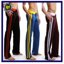 Free shipping!! 2013 New fashion Men&amp;#39;s Long johns/Sexy men&amp;#39;s sport parts /Low waist men&amp;#39; s Trousers Mix order+5Colors (0212)(China (Mainland))