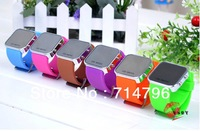 12color 2013 Hot New Rectangle Color Storm Fashion LED watches Digital Colorful Silicone Unisex Sport for men Watch 300pcs/lot