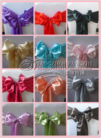free shipping satin  chair sash/chair sash/chair tie back