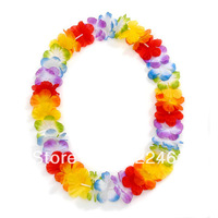 50pcs/lot  Free Shipping festive & party supplies Party Supplies Hawaiian Flower lei  Hawaii Necklace