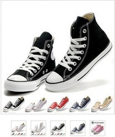 New Fashion hight-top /low-top Canvas Shoes Classic Shoe Men&#39;s/Women&#39;s Sport Sneakers Casual Shoes 36~44 Size and Color