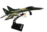 Free shipping! MIG - 29 Soviet fighters, alloy fighter model, electric plane!