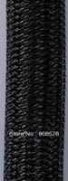 Black Metallic Tubular Crin    -  60 yard of 16mm - Crinoline Cyberlox Stretch Tubing