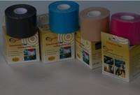 DHL 12pcs/lot 5cm x 5m Saferlife Kinesiology tape for eblow knee safe guard