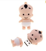 Wholesale 4GB 8GB 16G 32G 64GB 128GB  Fat doll USB 2.0 Memory Flash Pen Drive Free shipping