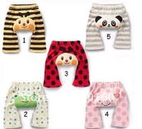 Free shipping 5pcs /baby cotton potty training pants/ PP shorts pants, baby pp pants