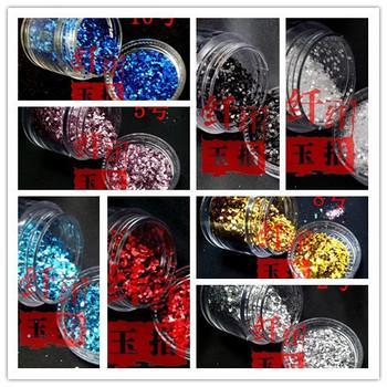 10g mixed powder nail art glitter laser glitter nail art powder finger paillette multicolor