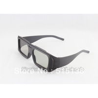 ABS Frame Chromadepth 3D Glasses Circular polarized 3D Eyewear for 3D