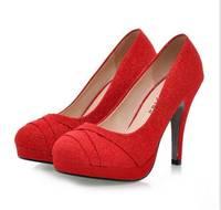 130305 High-heeled shoes Fashion  Wedding shoes
