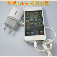 Apple iphone5 belt line straight imitation household charger travel imitation mini ipad4 charger
