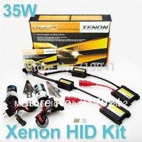 Xenon HID kit H1 H3 H4 H8 H4 H7 H11 single beam HID AUTO CAR lamp HID KIT 12v 35w color 3000k,4300k,6000k,8000k,10000k,12000k  b