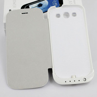 3200MAH External Back Up Charger Case Battery For Samsung Galaxy S3 i9300 White