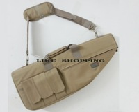 free shipping tactical hunting shooting carry case 70cm shotgun  slip bag tan