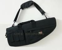 tactical hunting shooting carry case 70cm shotgun Single shoulder bag  balck