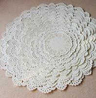 11sizes cake decor paper placemat flower shape paper doily