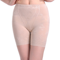 Jacquard mesh seamless antibiotic butt-lifting pants body shaping pants thin breathable