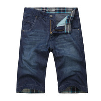 58 jvr denim capris summer thin male shorts denim shorts male