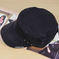 Super handsome male hat cotton cadet cap military hat outdoor cap cap male hat