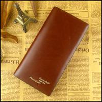 2013 wallet men's wallet male wallet long design cowhide wallet