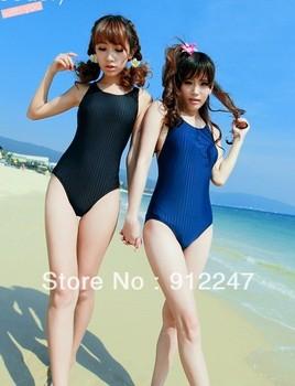 promotion swimwear spa new arrival sexy one piece triangle swimsuit beach wear swimming bathing suit balck blue tankini women