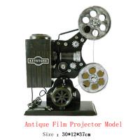 Antique craft keystone film projector model handmade craft home decoration bar coffee house display birthday gift
