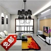 6 head candle Spanish famous classic titanium droplight hotel bar modern Pendant Lamp 110V/120V/220V/230V