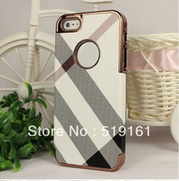 The Apple iPhone55G new luxury-plated the diagonal leather case cover new, free shipping