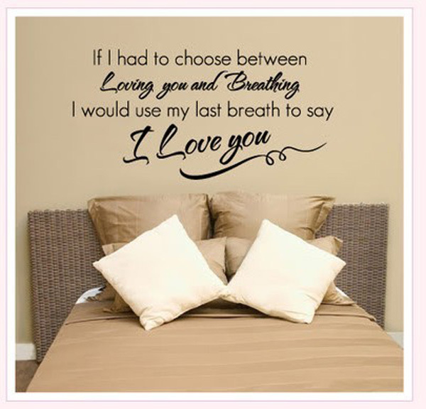 Love Wall Quotes Enchanting Huge Wall Quote Stickers Ideas  Stylewhack