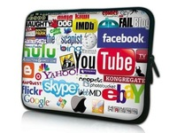 Free shipping!17'' Laptop Sleeve  Neoprene Bag Soft  Bag Cool bag notebook bag  for hp ,hot!
