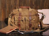 Free Shipping HOT fashion canvas bag large capacity casual bag handbag dual-use messenger bag free shipping KH014