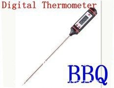 High quality Free DHL/Fedex shpping Digital Cooking Food Meat thermometer Probe Digital BBQ Thermometer Kitchen BBQ (50pcs/lot)