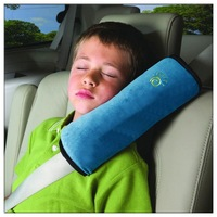 Free shipping Baby seat belt cover pad auto seats safety shoulder child head pillow headrest 1061