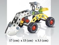 DIY Metal Truck Children Educational Toys Kids Festival Gift Metal Blocks More Style Can Choose
