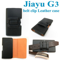 Horizontal Leather Pouch Holster Belt Clip Case For Jiayu G3(MTK6577) High Quality the best safe home for your beloved phone