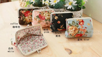 Hot selling 2013 freeshipping canvas coin holder/New women's retro wallet Korea canvas  bag activities gift wholesale wallet
