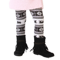 MICKEY children's clothing female child spring 2013 baby thickening plus velvet cartoon legging boots trousers