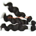 No Chemical Precessed hair extensions 100% European virgin hair weft 10''-28'' 1B body wave weaves 100g/pc Free shipping 3pc/lot