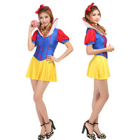 1232 halloween costumes clothing performance wear snow white princess dress