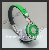 Green Mixr high performance professional headphone, studio pro DJ headset. with factory sealed box