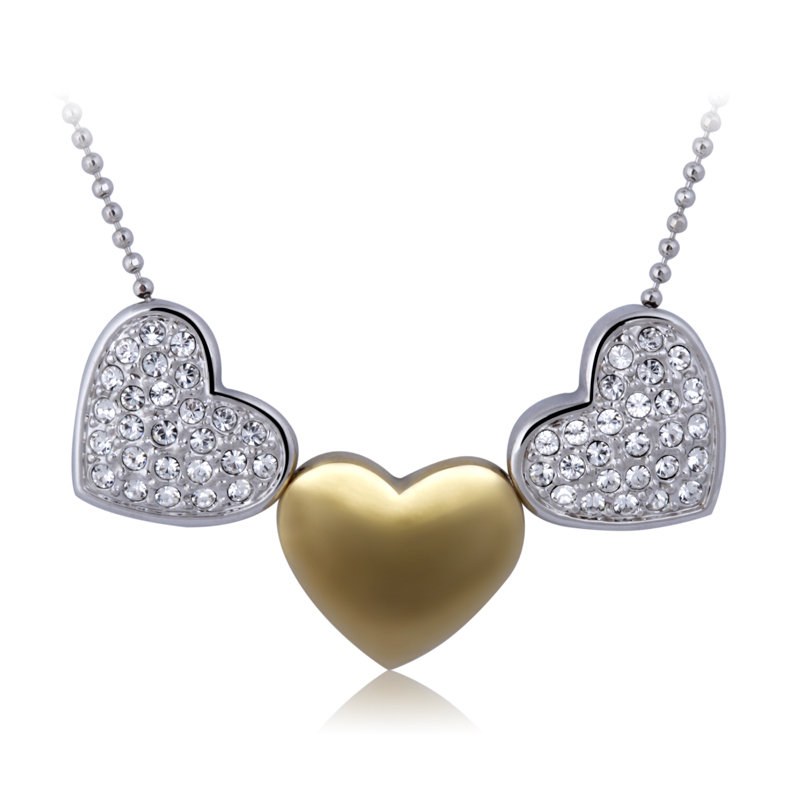 2013 new fashion Jewelry crystal necklace han female angel of love(China (Mainland))