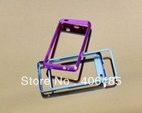 Free shipping retail without  screw    Aluminum Metal  Bumper Phone Case For Samsung  i9100