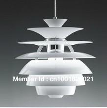 Free Shipping Hot Selling Wholesale Louis Poulsen PH Snowball Lamp Denmark Modern Pendant Light By Poul Henningsen(China (Mainland))