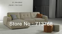 Free shiping Modern furniture / living room  sectional /  corner fabric sofa MCN441