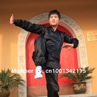 Kung Fu Suit Men Martial Art Jacket Pants Set Tai Chi Uniform Chinese Red Unisex