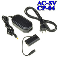 AC-5V with CP-04 DC Coupler AC Adapter Charger Kit for Fujifilm FinePix S1600 S1800 Free Shipping